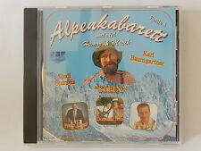 CD Alpenkabarett mit Humor & Musik Folge 1 Rudi Sturzeis Steix Karl Baumgartner
