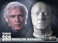 NEW MARLON BRANDO LIFE-SIZE Life Cast Life Mask Lightweight White Resin JOR-EL