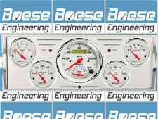 40 41 42 43 44 45 46 Chevy Truck Billet Aluminum Dash Insert Gauge Panel (Tach)