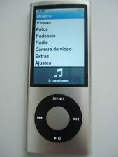 REPRODUCTOR PORTATIL APPLE IPOD NANO PORTABLE PLAYER 5TH 16GB 16 GB WORKING