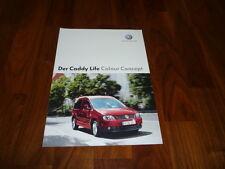 VW Caddy Life COLOUR CONCEPT Prospekt 12/2005