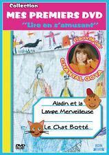 DVD Aladin et la lampe merveilleuse - Le chat botté / Raconté par Chantal Goya