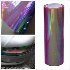 """12""""x78"""" Chameleon Neo Purple Autos Headlight Taillight Fog Light Vinyl Tint Film"""