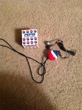 Pepsi Globe Ball promo portable radio with ear buds Free Shipping Advertising