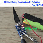 18650 Lithium Battery Charging Board 1A Micro USB LED Charger Module+ Protection