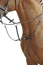 Martingal aus Leder Rinderleder Edelstahlbeschläge HKM 1872 VB/WB  Pony NEU