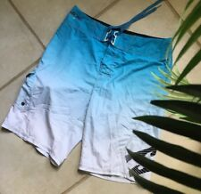 BILLABONG Men's Board Shorts Platinum x Stretch Blue Size 30 Surf Swim Skate