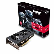 NEW Sapphire Radeon RX 480 NITRO 4GB GDDR5 PCI-E Video Card HDMI DVI DisplayPort