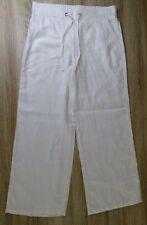 M/&S High Rise Gamba Larga Pantaloni su misura ~ Taglia 16 Grigio Brevi ~