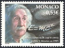 Monaco 2005 Albert Einstein/espacio/ciencia/Matemática/física/personas 1 V (n13953)