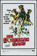 THE DOBERMAN GANG Movie POSTER 27x40 C Byron Mabe Hal Reed Julie Parrish Simmy