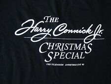 Vintage HARRY CONNICK Jr Christmas Special CBS TV 1993 Rare tour T Shirt XL