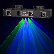 4 Lens Green Purple LASER stage Light DJ Show Home Party Light projector DMX512