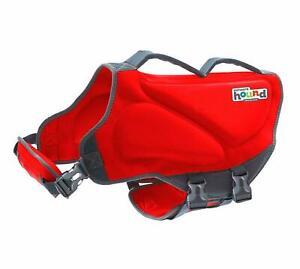 Outward Hound Dawson Dog Life Jacket, Medium, Red