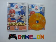 Nintendo Wii Mario & Sonic at the Olympic Games Game, Case & Booklet ~ FREE P+P