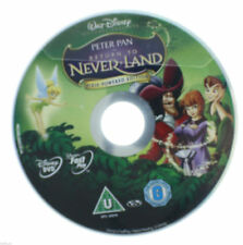 Peter Pan Special Edition In Return To Neverland DVD R2 PAL - 2007 DISC ONLY