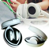 Hard Shell Carry Headphone Headset Earphone Case Portable Collector Pouch Bag