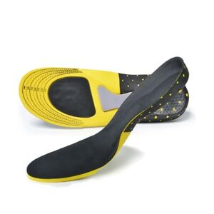 Orthotic Insoles for Arch Support Plantar Fasciitis Flat Feet Back Heel Pain UK