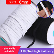 100 Yards Length DIY Braided Elastic Band Cords Knit Band Sewing 1/4 in Width