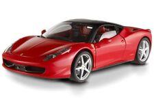 FERRARI 458 ITALIA RED 1/18th Scale by Hot Wheels SUPER ELITE EDITION OPENED BOX