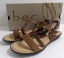 NIB BOC Born Womens Indie Light Brown Strappy Sandals Size 8 M