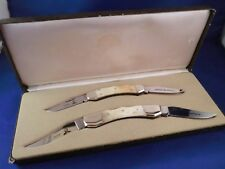 RARE! Parker Eagle Brand The Villains James Brothers Collectors Knife Set
