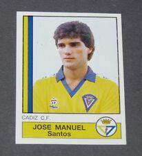 82 JOSE MANUEL SANTOS CADIZ CF PANINI LIGA FUTBOL 87 ESPAÑA 1986-1987 FOOTBALL