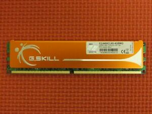 G.Skill 4GB (1-Stick) PC2-6400 DDR2 800 Desktop PC Memory F2-6400CL6S-4GBMQ