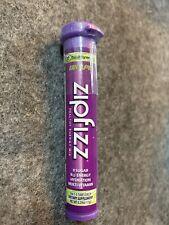 Zipfizz Healthy Energy Drink Mix - Grape Flavor - No Sugar Full Box of 30 Tubes