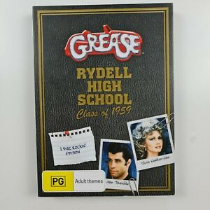 Grease - Rydell High School Class of 1959 DVD - Region 4 PAL -FREE TRACKED POST