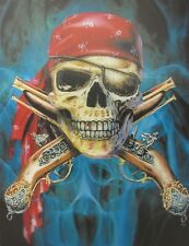 Poster Print 3d picture of the Pirate, great for Home Decoration Y094