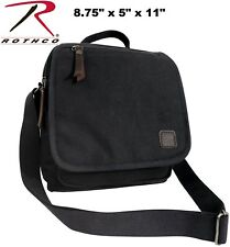 a951013cff8c Free shipping. Style  Messenger Shoulder Bag. 10 brand new from  14.99.  Color  Black. Black Everyday Work Shoulder Bag HW Cotton Canvas   Leather  Accents ...