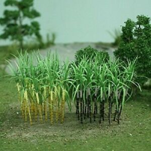 """MP Scenery Products 70128- O scale - Sugarcane Plants, 2 1/2"""" Height, 30/pk"""