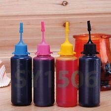 4x 50ML Dye Base UV Ink for Epson NX215 NX410 CX6000 NX115 Refillable Cartridges