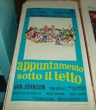 NOMINATION EN VERTU DE LA LIT affiche original 1968 LUCILLE BALL HENRY FONDA