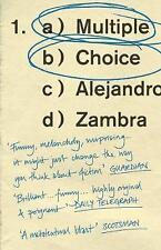 Multiple Choice by Alejandro Zambra (Paperback, 2017) 9781783782710