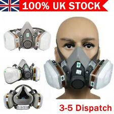 More details for new 7502 7 in 1 full face respirator  for  painting spraying protection hot sale