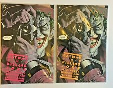 DC Comics. Titan Books. Batman The Killing Joke x 2. Pink & Orange. Alan Moore.