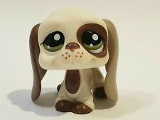 Genuine LPS Littlest Pet Shop Chocolate and Cream Basset Hound #1594 Hasbro