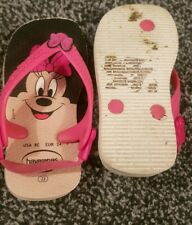 Minnie Mouse Havaianas - See Photo For Size & info