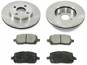 For 2003-2007 Saturn Ion Brake Pad and Rotor Kit Front 89985HQ 2006 2004 2005
