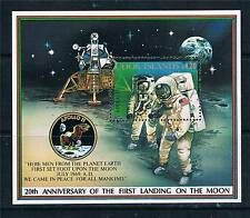 Cook Is.1989 20th Anniv.of First Moon Landing MS SG1221 MNH