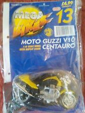MEGA BIKES MAISTO MODEL MOTO GUZZI V10 CENTURO & COLLECTORS FILE INFO ISSUE 13
