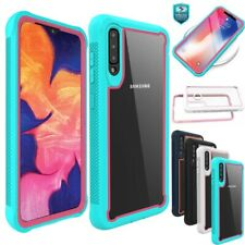 For Samsung Galaxy A10e A20S Shockproof TPU Bumper Clear Back Phone Case Cover