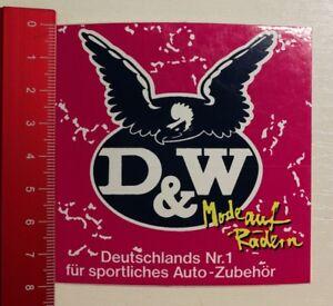 Aufkleber/Sticker: D & W Mode auf Rädern (12041729)