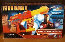 * BRAND NEW IN BOX * Iron Man 2 Strike NERF Blaster with Darts Marvel Hasbro