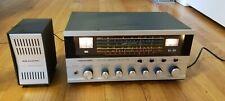 Vintage Realistic DX-160 5 Band Shortwave Receiver & Matching SP-150 Speaker