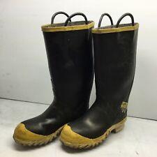 Ranger FireWalker Firefighter Boots Turnout Rubber Steel Toe Mens 9 Wide