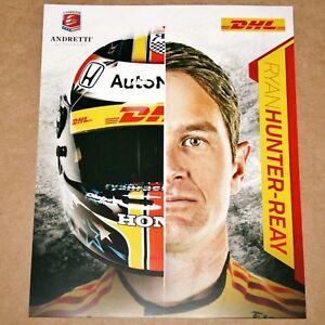 Ryan Hunter-Reay 2018 Indy Car Hero Card Photo #28 DHL Andretti Indianapolis 500