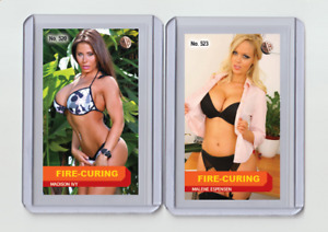 Madison Ivy rare MH Fire-Cured #'d 1/3 Tobacco card no. 520